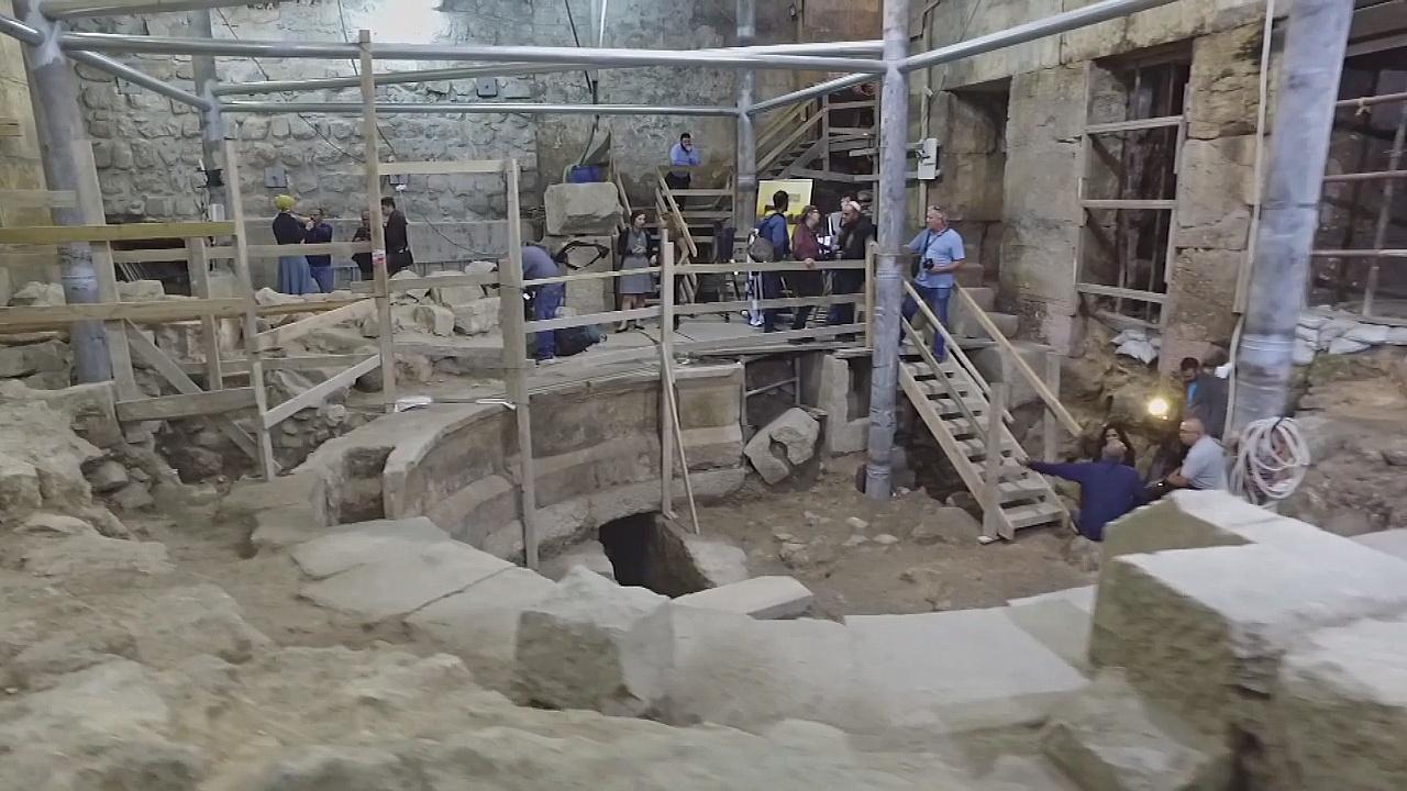 В старом Иерусалиме впервые откопали римский театр