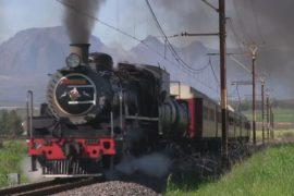 В ЮАР снова в моде поезда с паровозом