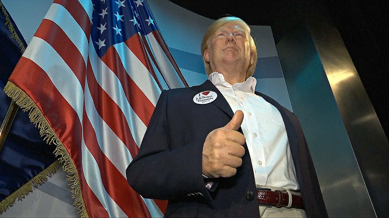 В Музее мадам Тюссо в Берлине появился восковой Дональд Трамп
