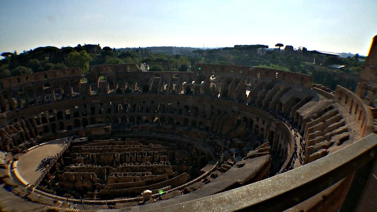 На верхние уровни Колизея впервые за 40 лет пустили туристов