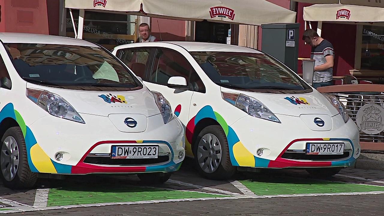 В Польше впервые откроется прокат электромобилей
