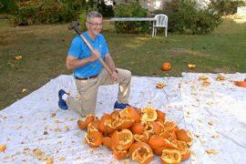 Мировые рекорды к Хэллоуину установил энтузиаст из Нью-Йорка