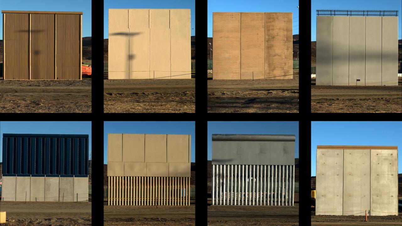 Какой может стать стена на границе США с Мексикой?