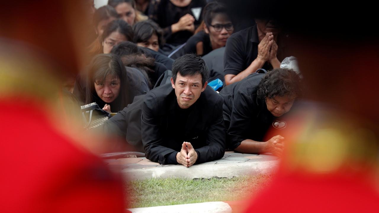 Королевские похороны собрали в Бангкоке 300 тысяч человек