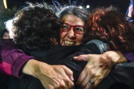 В Турции освободили восьмерых правозащитников Amnesty International