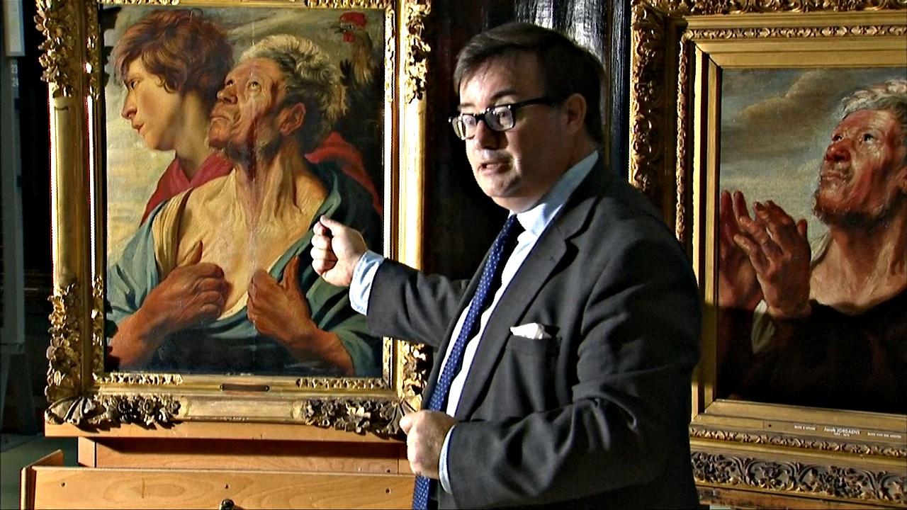В Бельгии представили недавно открытую картину Якоба Йорданса