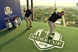 Гольф на Эйфелевой башне: Франция готовится к Кубку Райдера