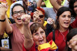 Каталония объявила о независимости от Испании
