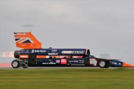 В Великобритании испытали самый быстрый автомобиль