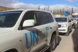 В пригород Дамаска доставили гумпомощь для 40 тыс. человек