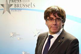 Отстранённый президент Каталонии сделал заявление в Брюсселе