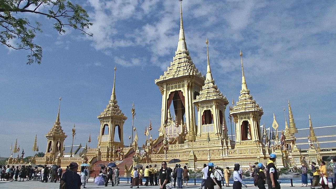 Королевский крематорий в Бангкоке открыли для посетителей