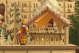 Оригинальные рождественские украшения представили на ярмарке в Лондоне