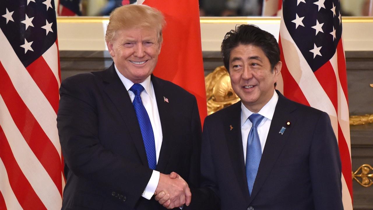 Дональд Трамп прибыл с визитом в Японию