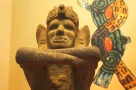 Новые реликвии Теночтитлана представили на выставке в Мехико