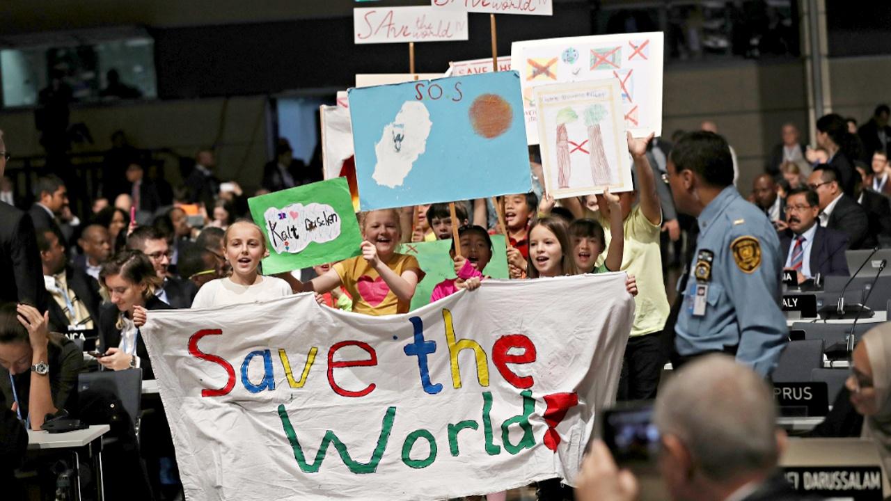 Климатическая конференция ООН началась в Бонне