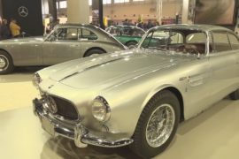 Alfa Romeo Риты Хейворт и Ferrari Dino показали на выставке в Падуе