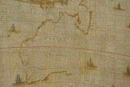 В Австралии показали редкую карту XVII века