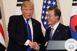 Дональд Трамп завершил официальный визит в Южную Корею
