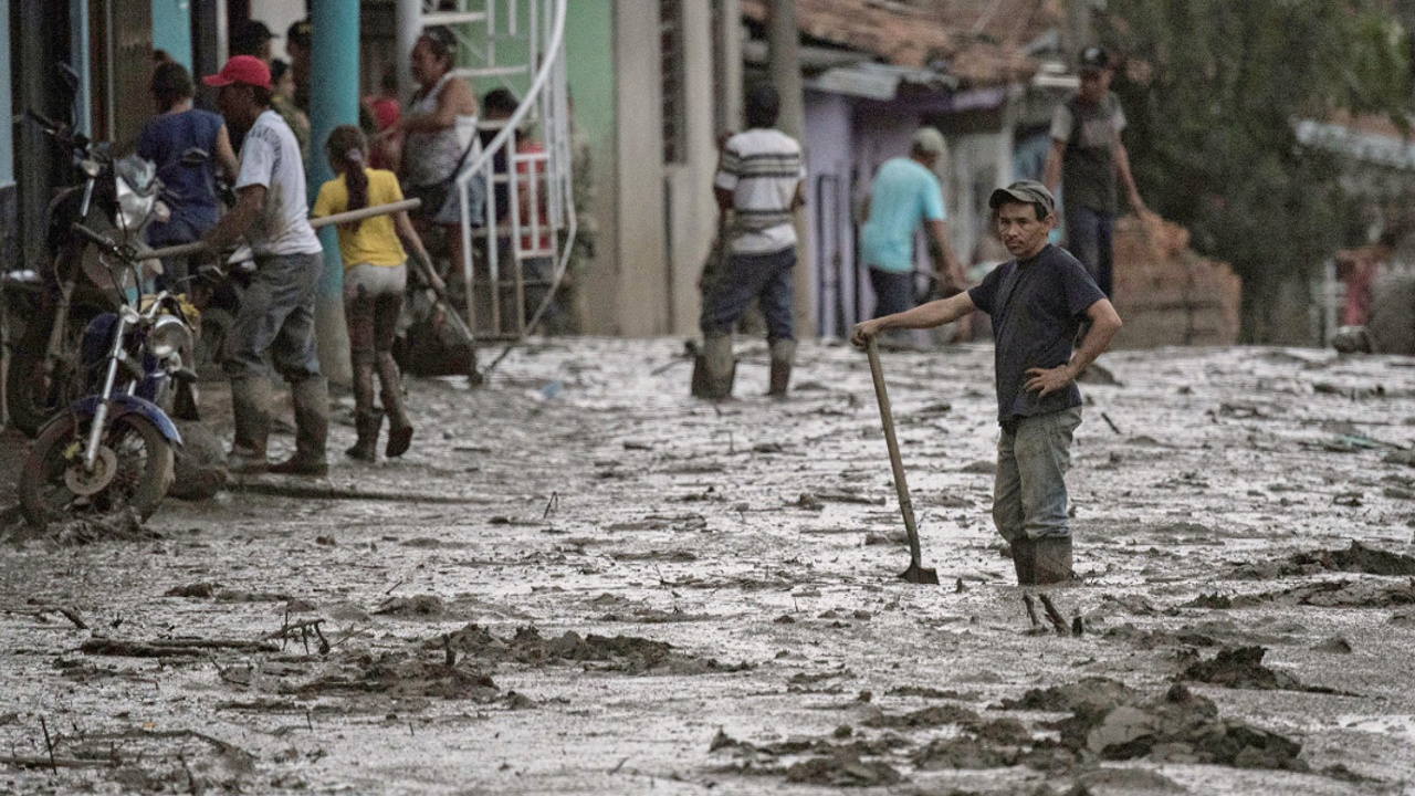 На город в Колумбии сошёл селевой поток, есть жертвы