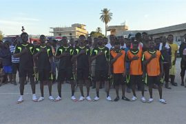 Для нелегальных мигрантов в Триполи устроили футбольный чемпионат
