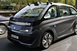 Французы выпускают первое беспилотное такси для мирового рынка