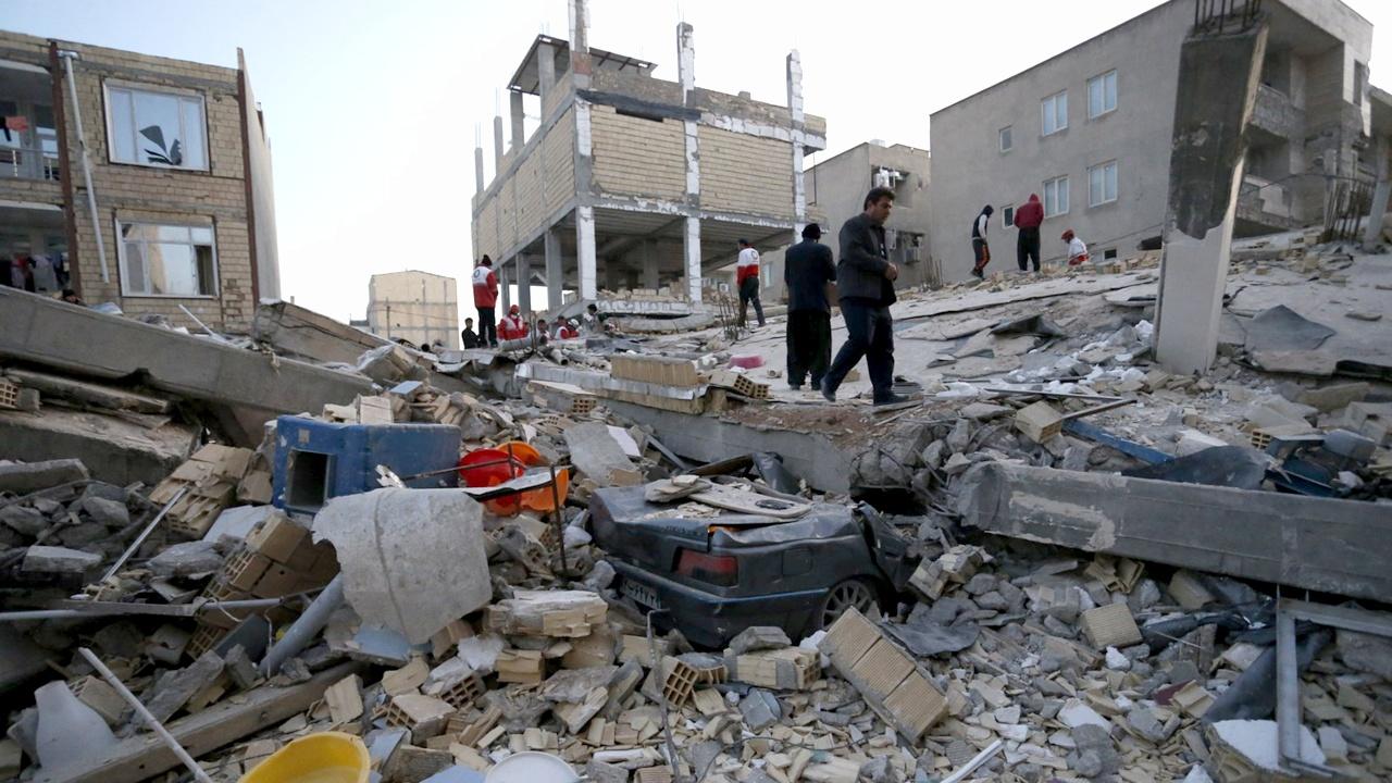 Землетрясение магнитудой 7,3 произошло на ирано-иракской границе