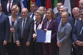 В ЕС подписали историческое оборонное соглашение