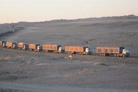 Очереди на границе угрожают угольной промышленности Монголии