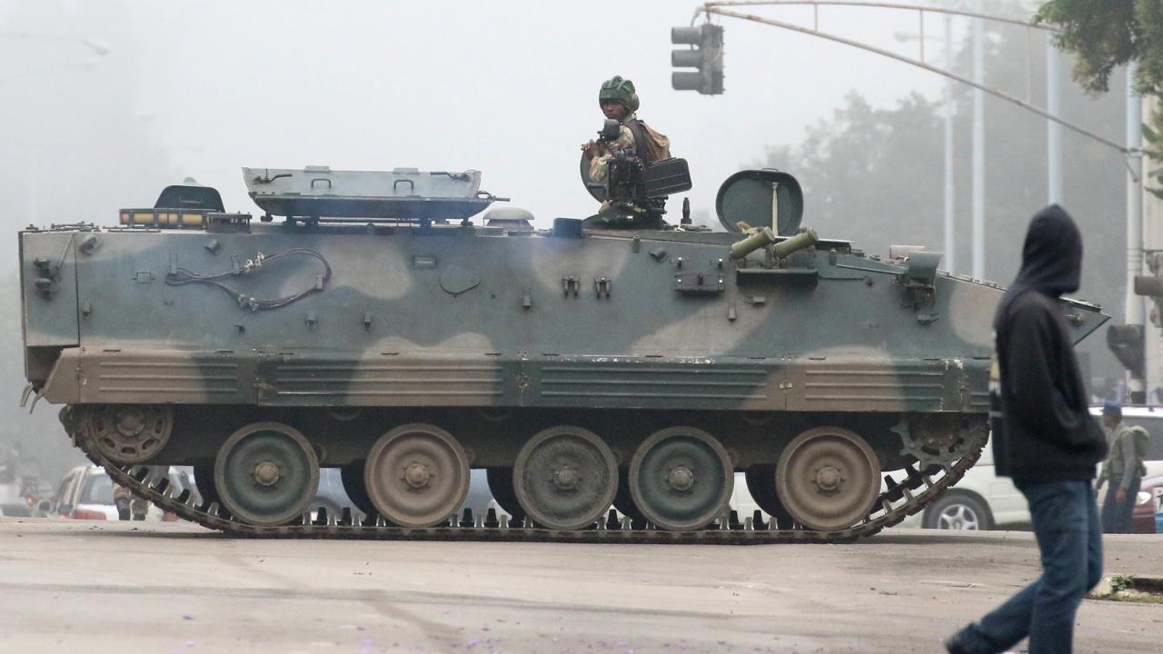 Армия Зимбабве отрицает госпереворот