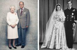 В Великобритании отметили 70 лет брака Елизаветы II и Филиппа