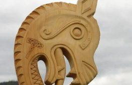 Копию лодки викингов построили для энтузиаста из Сиднея