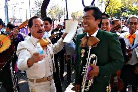 Музыканты-мариачи отпраздновали день своей покровительницы