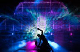 Световое Рождественское шоу украсило знаменитые Сады Кью в Лондоне