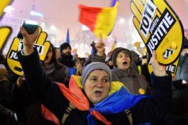 Масштабный протест против судебной реформы вновь прошёл в Бухаресте