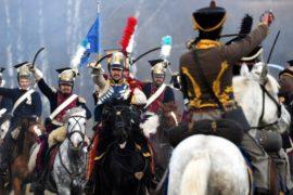 Реконструкцию битвы на Березине 1812 года воссоздали в Беларуси