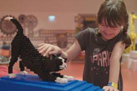 День и ночь в Lego House: шотландская семья пожила в окружении конструктора