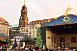 В Германии открылся старейший рождественский рынок