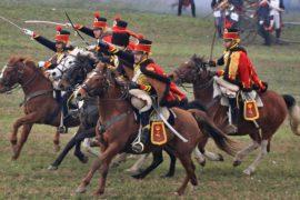 Реконструкцию битвы при Аустерлице провели в Чехии