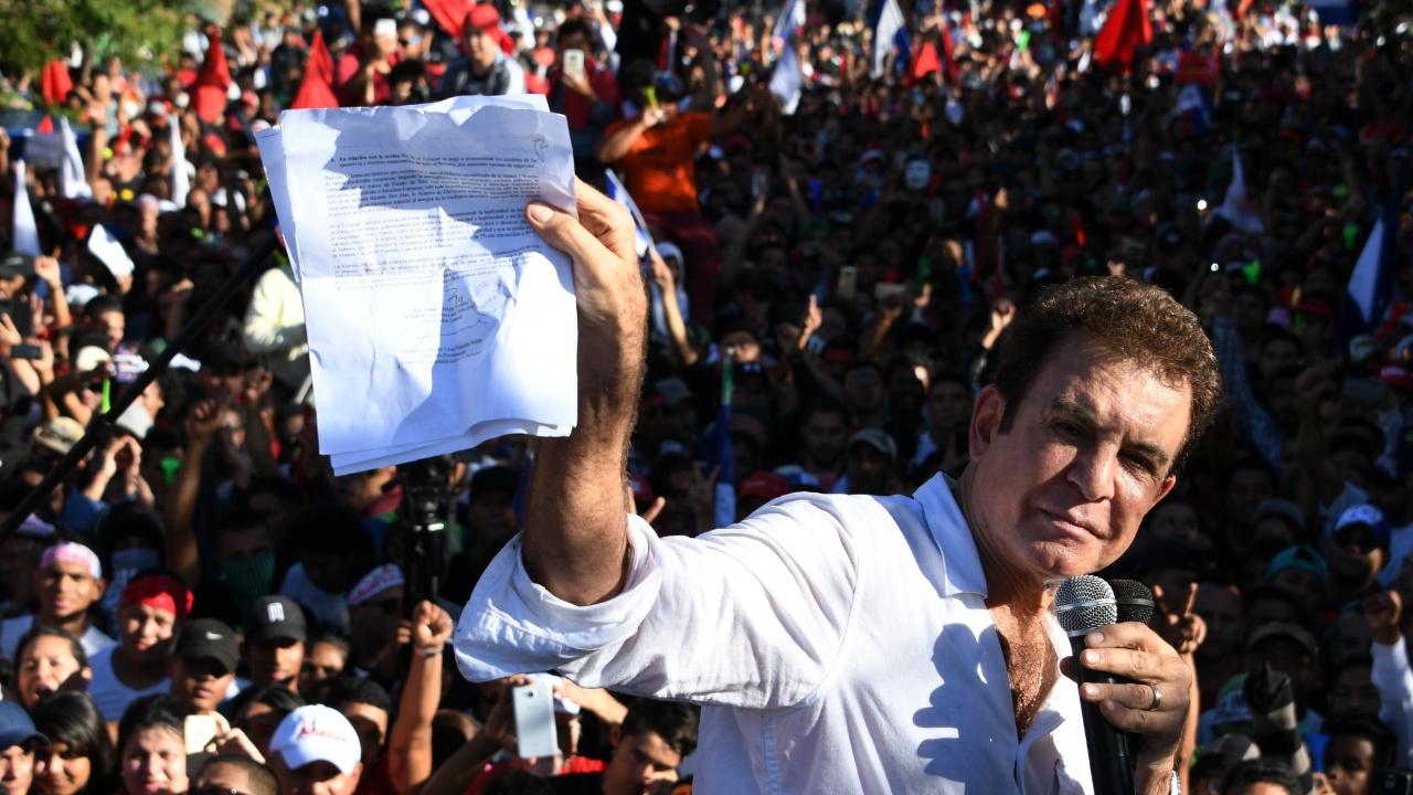 Оппозиция Гондураса требует пересчёта голосов