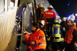 В Германии пассажирский поезд врезался в грузовой, есть пострадавшие