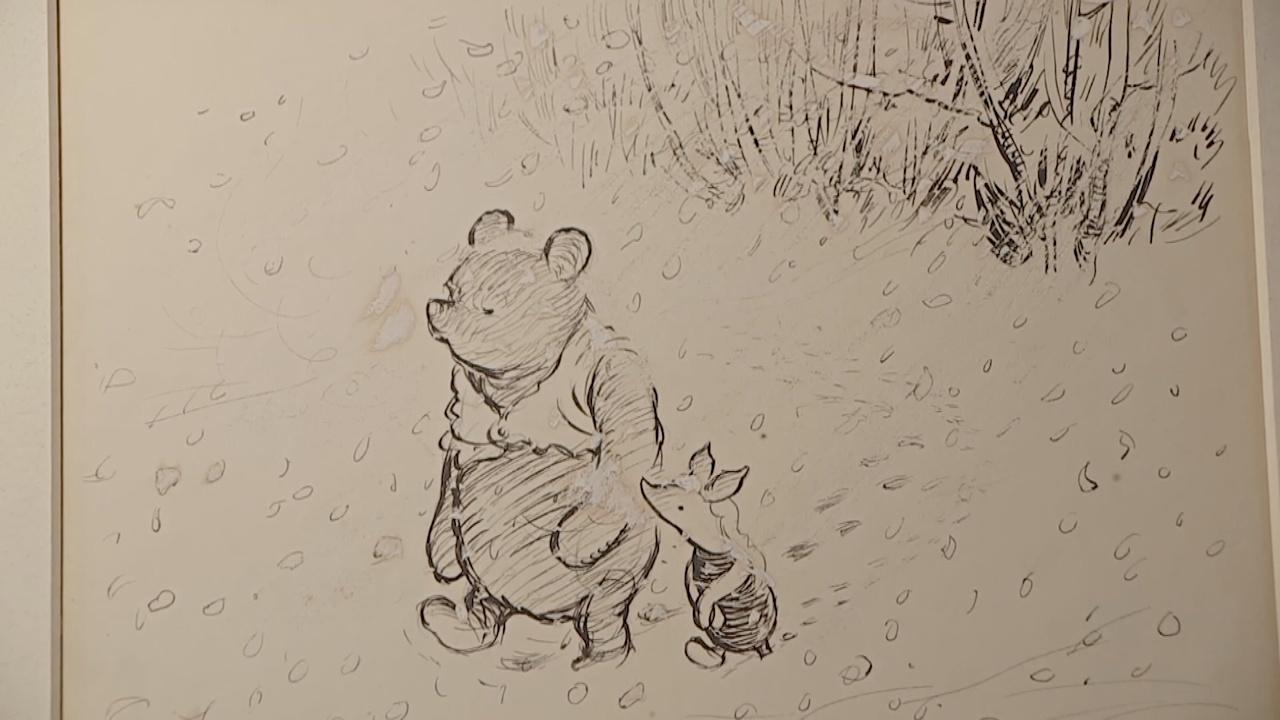 Выставка о Винни-Пухе открывается в Лондоне впервые за 40 лет