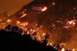 Южная Калифорния снова в огне