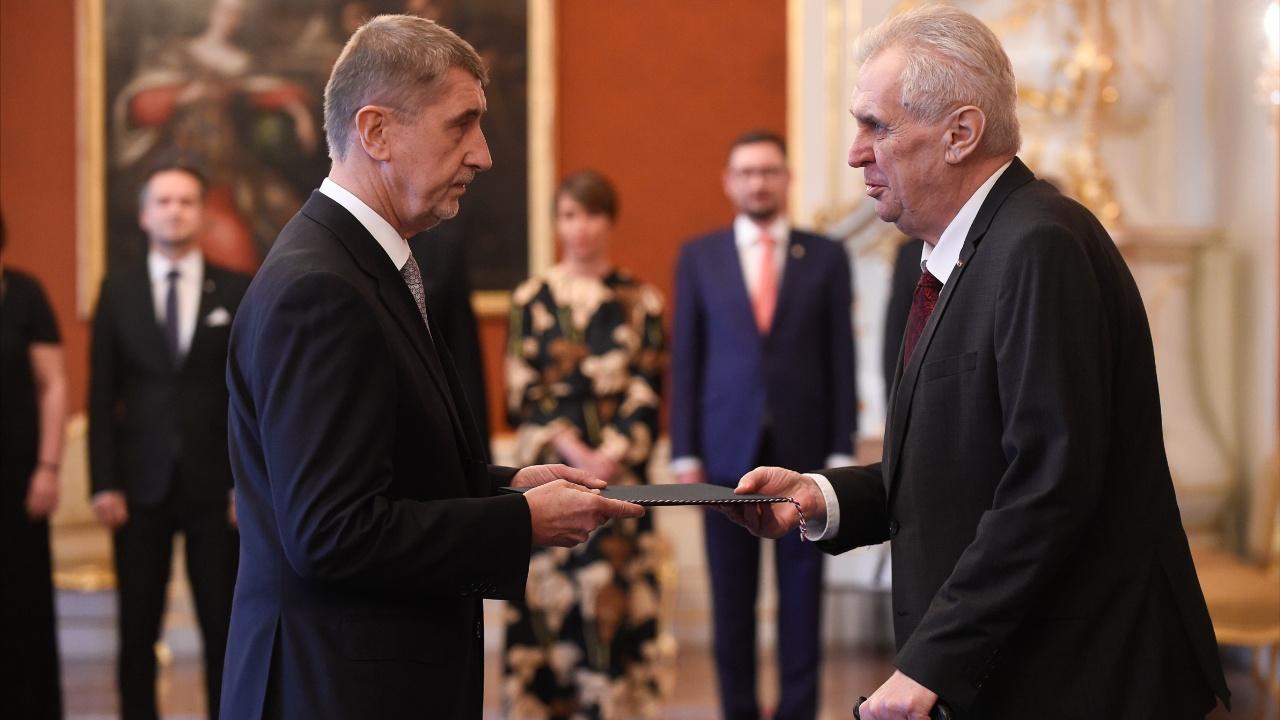 Новый премьер Чехии Андрей Бабиш приведён к присяге