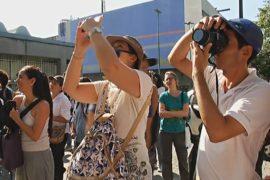 Уровень преступности не отпугнул туристов от Каракаса