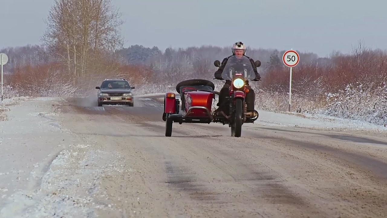 Российские мотоциклы «Урал» с коляской востребованы за рубежом