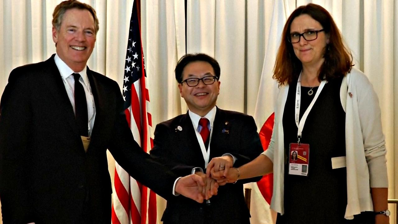 ЕС, США и Япония сделали общее заявление на конференции ВТО
