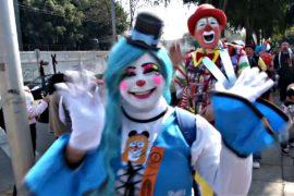 Мексиканские клоуны совершили паломничество к базилике