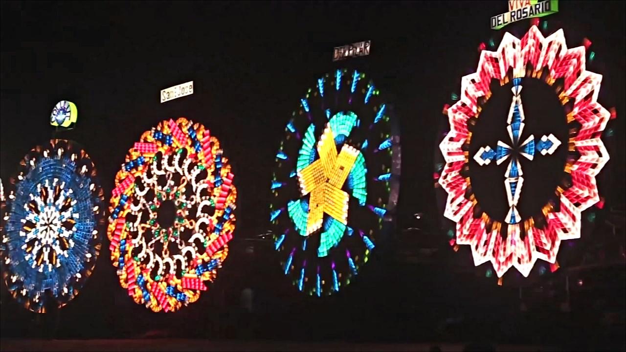 Гигантские фонари создают рождественское настроение на Филиппинах