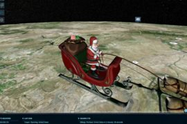 Проследить за передвижением Санта-Клауса на санях стало проще